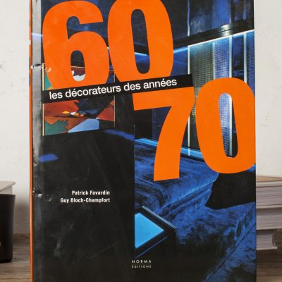 LIBRO ``LES DECORATEURS DES ANNES 60-70´´
